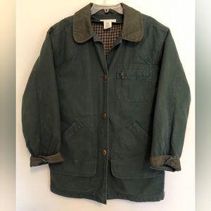 LL Bean Vintage classic Chore Coat Green M